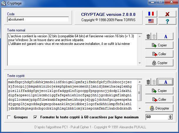 Cryptage - un petit utilitaire, petit mais maousse costaud  ! 903944crypt014903
