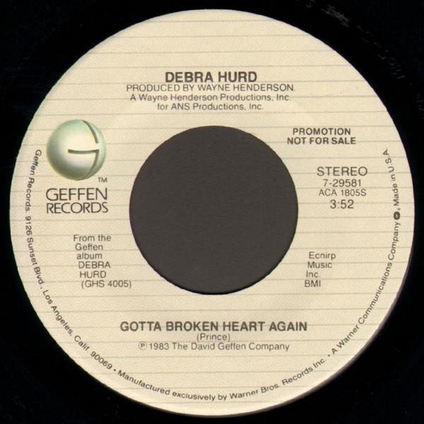 Debra Hurd - Gotta Broken Heart Again - 1983 904312R26369761294401258jpeg