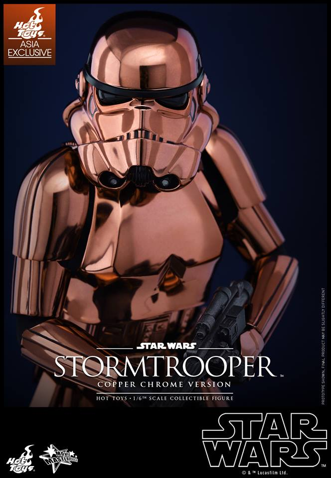HOT TOYS - Star Wars: TFA - Stormtrooper Copper Chrome 904959110