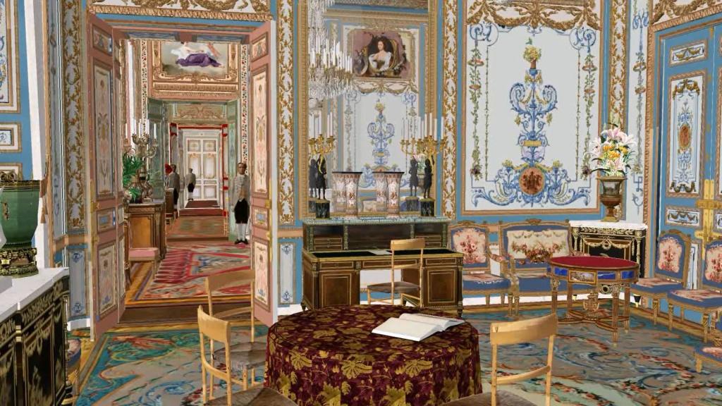 Reconstitution virtuelle du Palais des Tuileries, états Premier Empire et Second Empire - Page 2 906368salonbleuenfiladeguridon