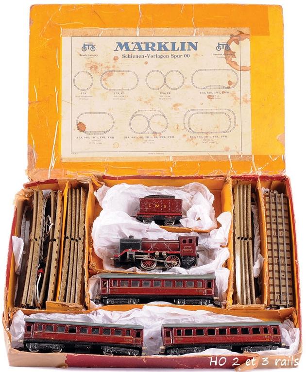 Coffrets Märklin 1936 - 1968 (rouges, noirs, verts ou bleus) 906597MarklincoffretR742LMSR
