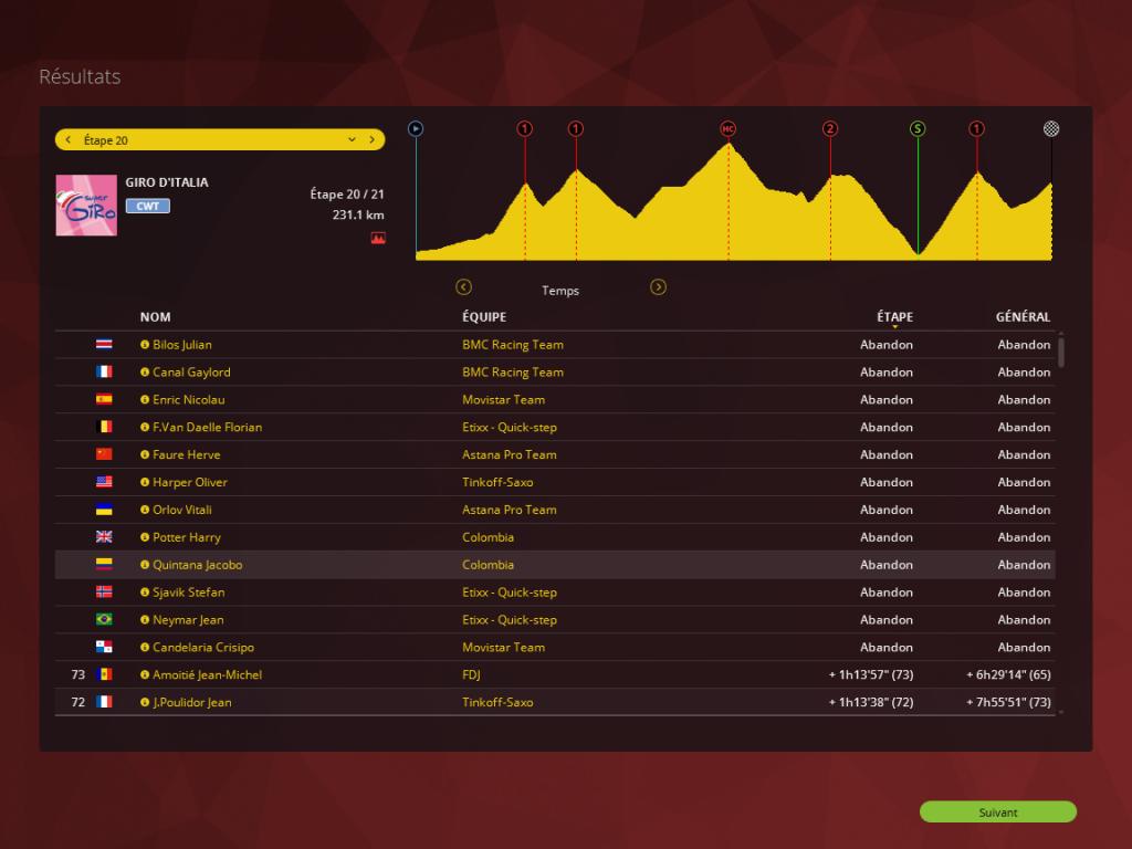 Giro - Tour d'Italie / Saison 2 906664PCM0015