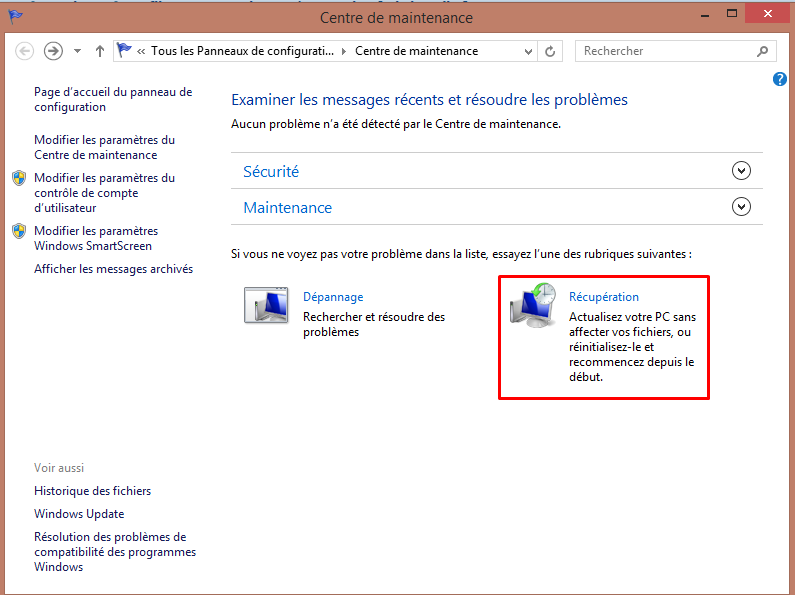 Restaurer son pc avec la sauvegarde image Windows 8.1 908207restaurationimageW812