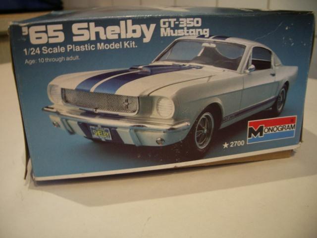 mustang shelby 350 GT 1965  kit monogram 1/24 . 909195IMGP3003