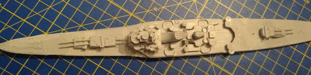 Croiseur TAKAO 1944 1/700 Pit-Road 909434Takao11