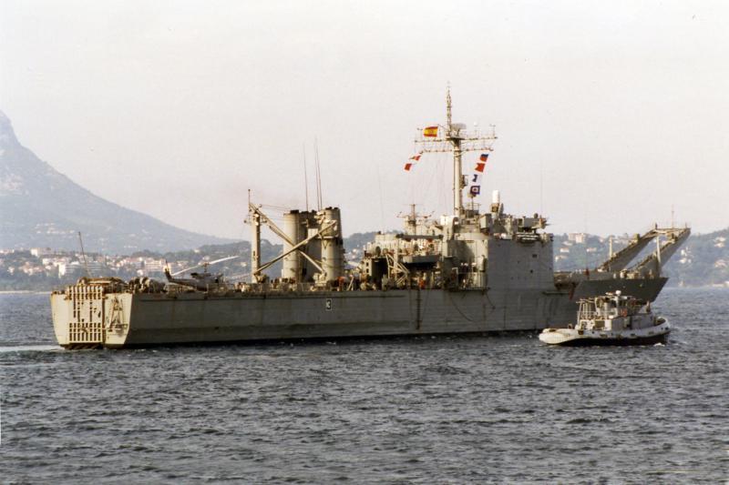 LANDING SHIP TANK (LST) CLASSE NEWPORT  912910LSTPizzaro
