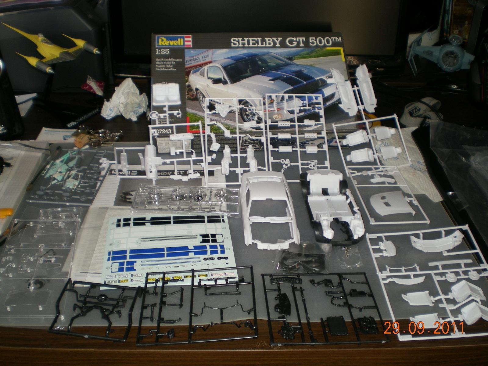 Voiture [Shelby GT500] Revell 1:25  913179DSCN3985