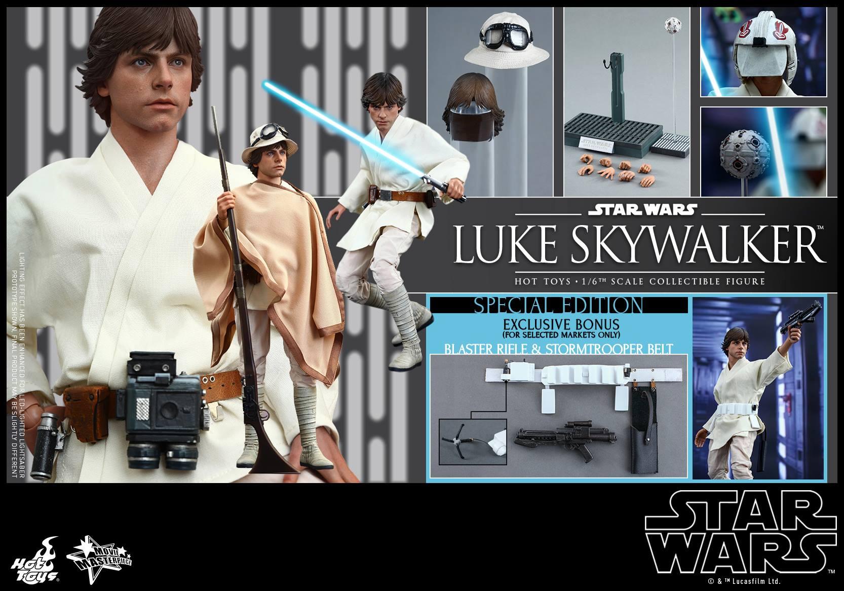 HOT TOYS - Star Wars: Episode IV A New Hope - Luke Skywalker 913543117
