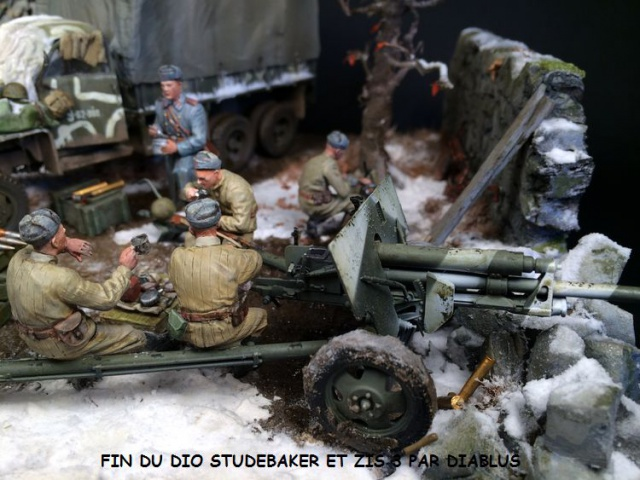Studebaker US6 U4 version russe marque ICM 1/35 et canon ZIS 3 miniart 914219finduStudebaker004