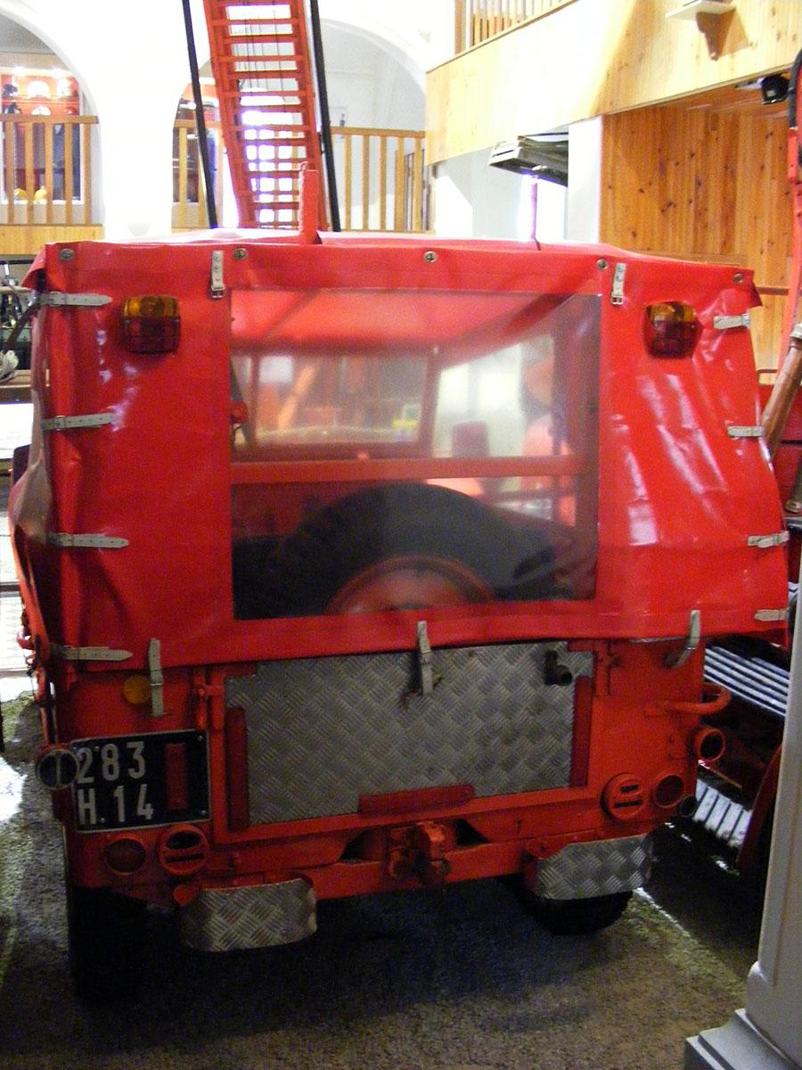 Bagnoles de l'Orne - Musée départemental des pompiers. 914841DSCF1730z9