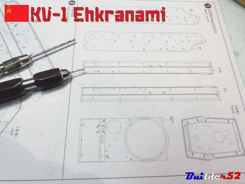KV-1 Ehkranami  -  TRUMPETER 1/35 917585P1030082