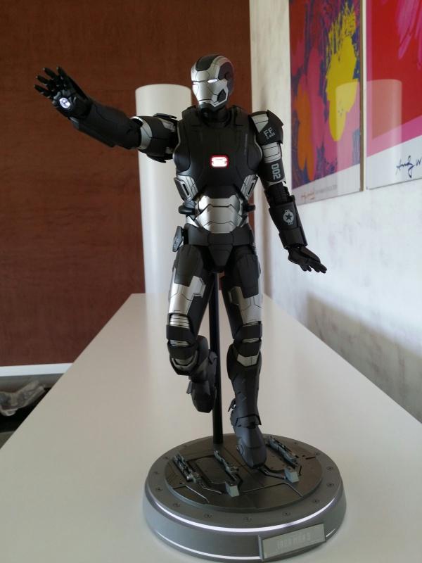 """red360 collec"""": War Machine MKII Diecast Hot Toys 917759201407161622541"""