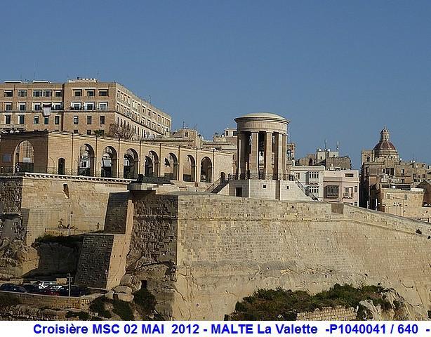 MSC Splendida Du 28 avril au 5 mai 2012 Gêne Barcelone Tunis La valette Taormine Messine Rome 918954P1040041