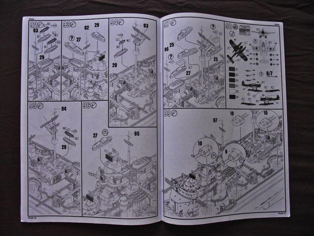 Bismarck Revell au 1/350ème  918989DSCF1013