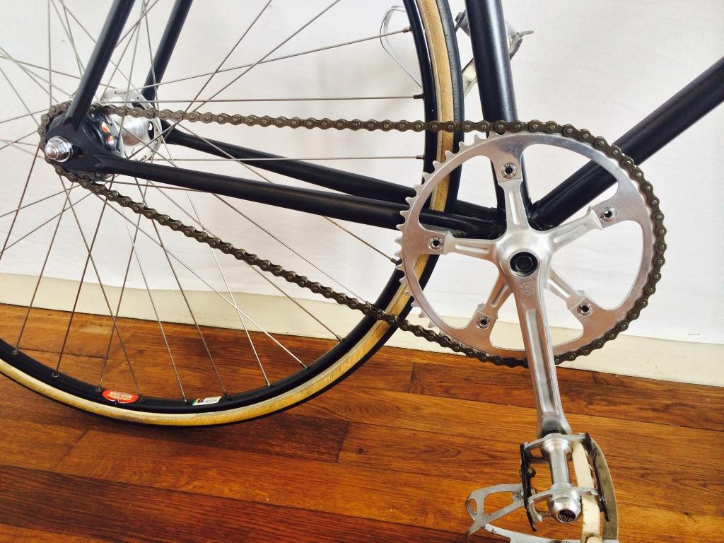 Vélo de piste Jean Marie Brun Tubes Columbus 919807image