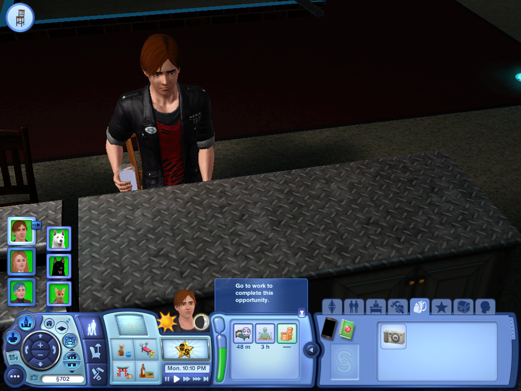 Les Sims ... Avec Kimy ! 920671Stanfaitlagueuleavecsonverredalcool