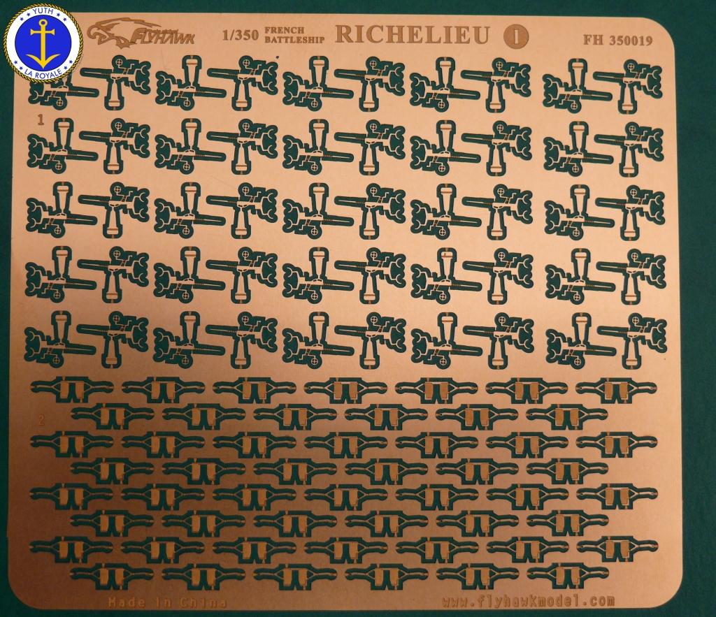 Set Richelieu 1/350 Super Detail FLYHAWK 924027Richelieuflyhawk015