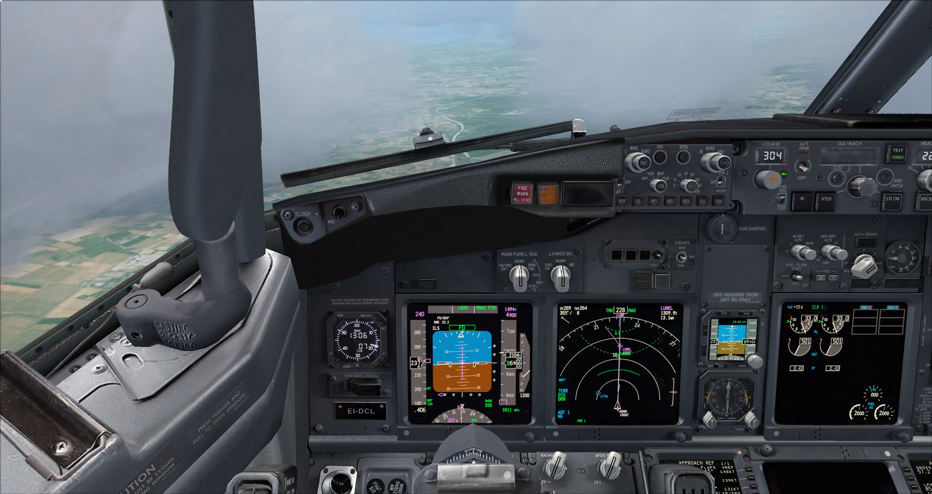 [FSX] Ryanair B737NG sur Montpellier 9242702014617194943788