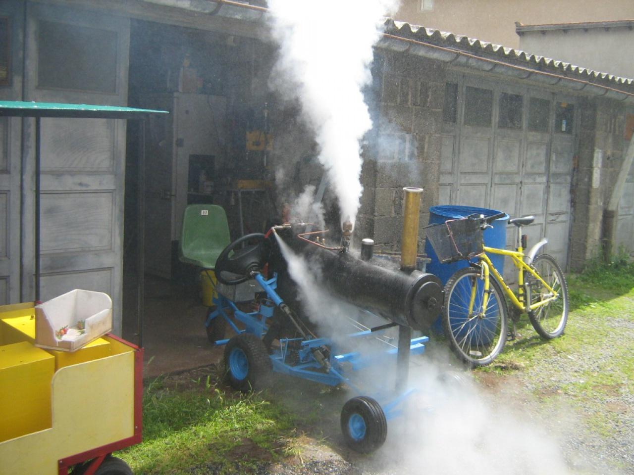 tracteur à vapeur sur chenilles de type Hornsby 924480IMG2449