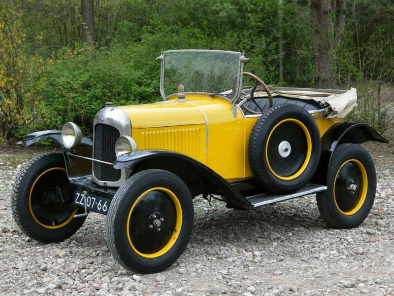 Citroën 5HP Torpédo 1923 - 1926 au 1/10ème de France-jouet       sur ponts-trans HSP Kulak 1/18ème    9251085HPTYPEC31925cache49512506