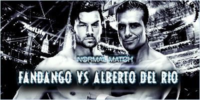 #MATCH 1 : ALBERTO DEL RIO VS FANDANGO  925388WrestlemaniaFandangovsADR