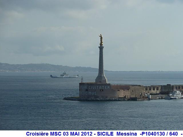 MSC Splendida Du 28 avril au 5 mai 2012 Gêne Barcelone Tunis La valette Taormine Messine Rome 926631P1040130