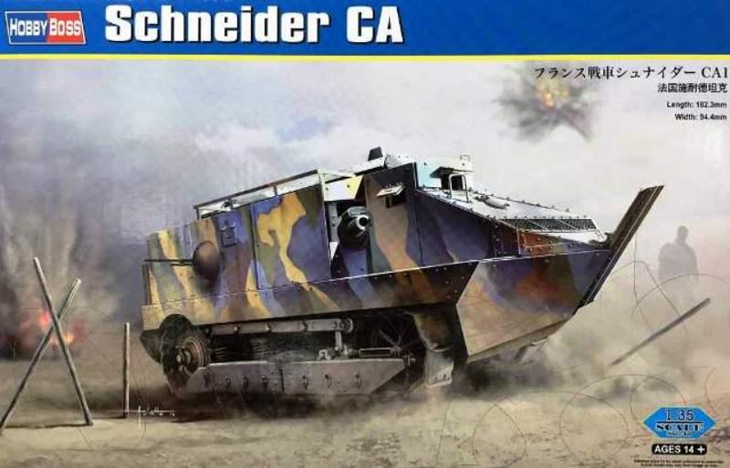 CHAR SCHNEIDER CA 1 - HOBBY BOSS 1/35 926821hobbyboss83861