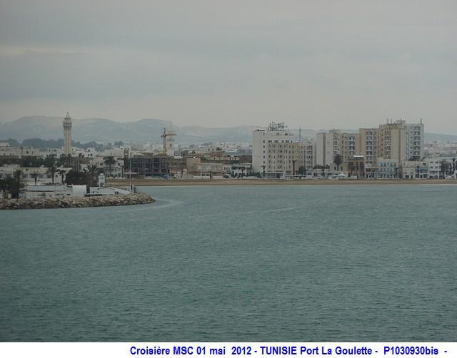 MSC Splendida Du 28 avril au 5 mai 2012 Gêne Barcelone Tunis La valette Taormine Messine Rome 926824P1030930