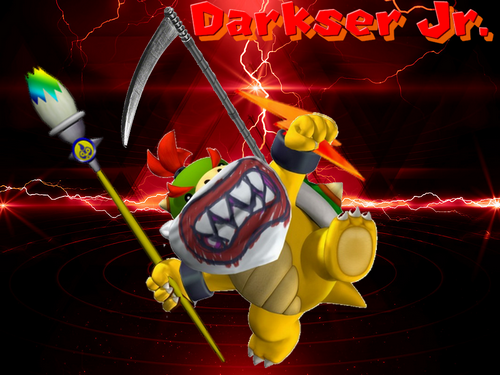 Bowser Jr VS Zero. 927195signaaa