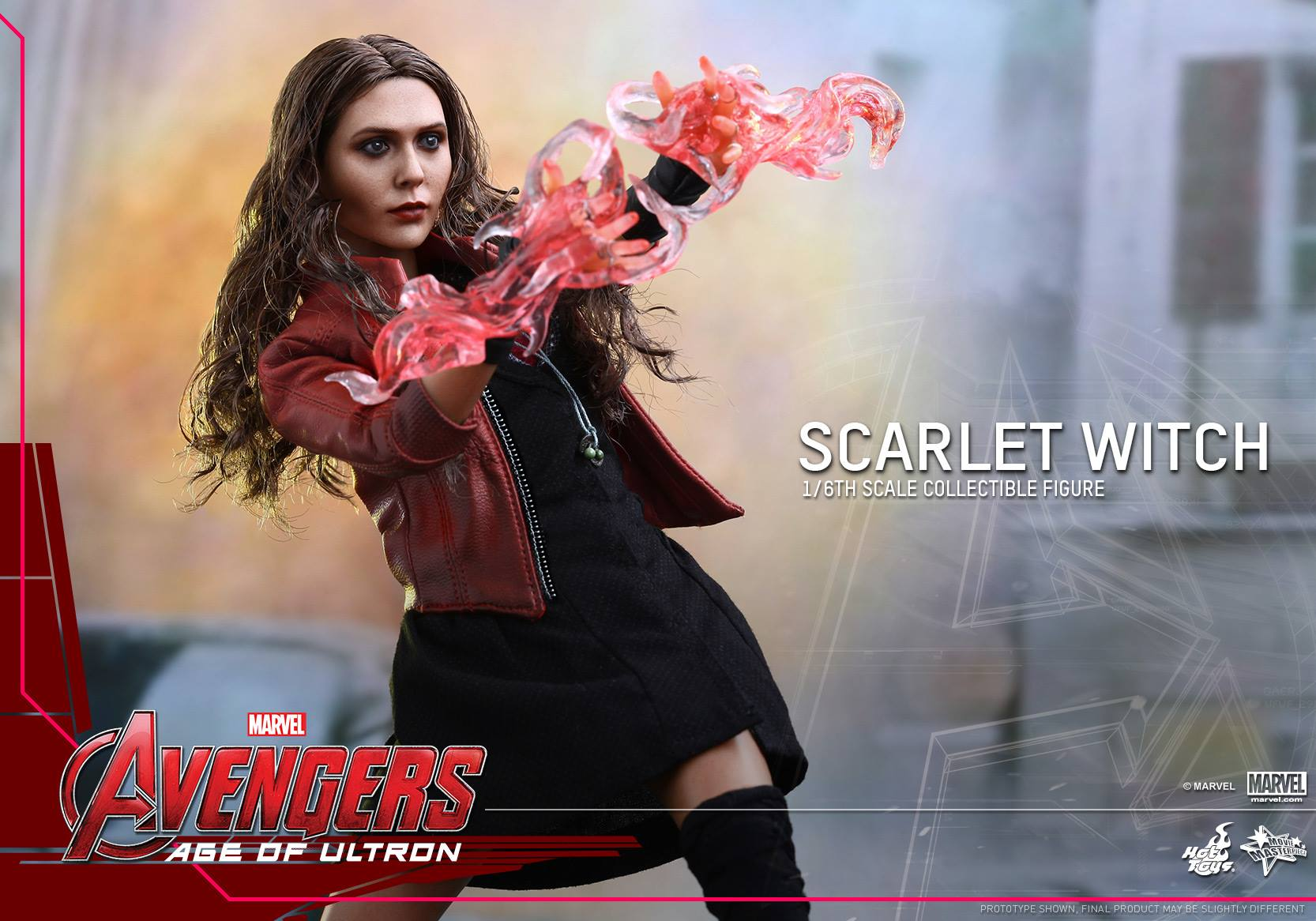 HOT TOYS - Avengers: Age of Ultron - Scarlet Witch 927225108