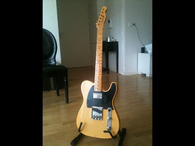 "Fender Custom Shop Telecaster 52 HB Relic ""Time Series"" 927461Telegnral"