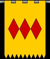 [Seigneurie de Lautrèc] Puycalvel  930112oriflapuyclavel