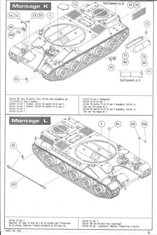 AMX 30 canon de 105 - (Réf. L810) 1/35 931479HellerAMX30105810009