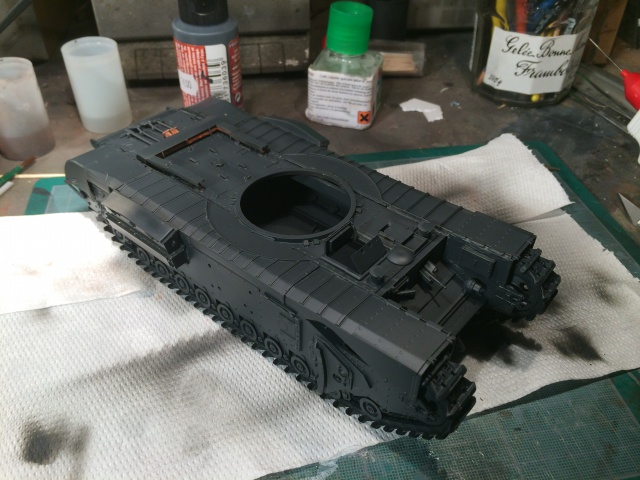 Churchill avre mk3  de chez afv club 1/35 931800016