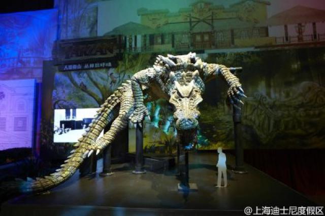 [Shanghai Disneyland] ADVENTURE ISLE (Soaring.../Roaring Rapids/Camp Discovery/Tarzan) 93315950w5