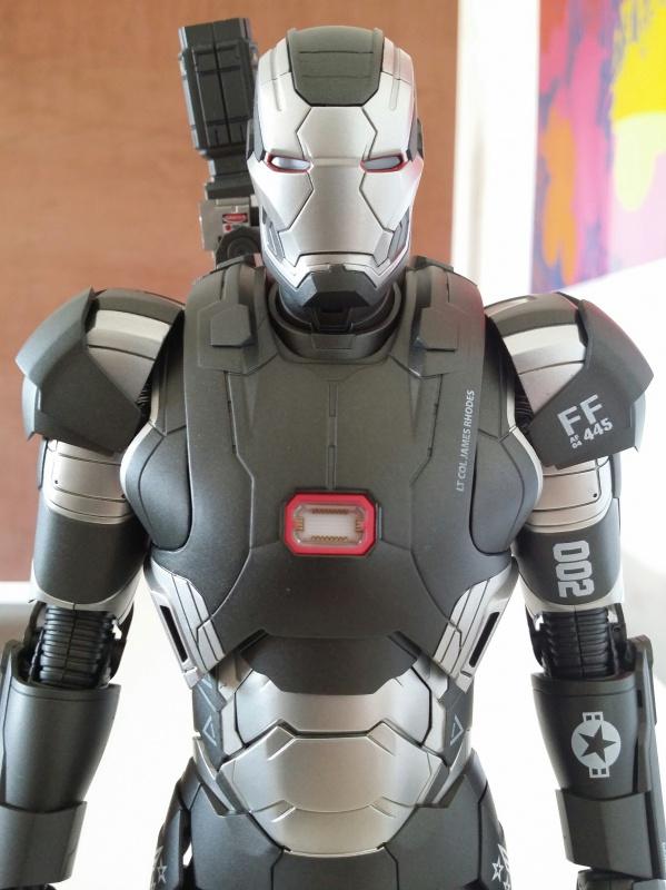 """red360 collec"""": War Machine MKII Diecast Hot Toys 933429201407161550381"""