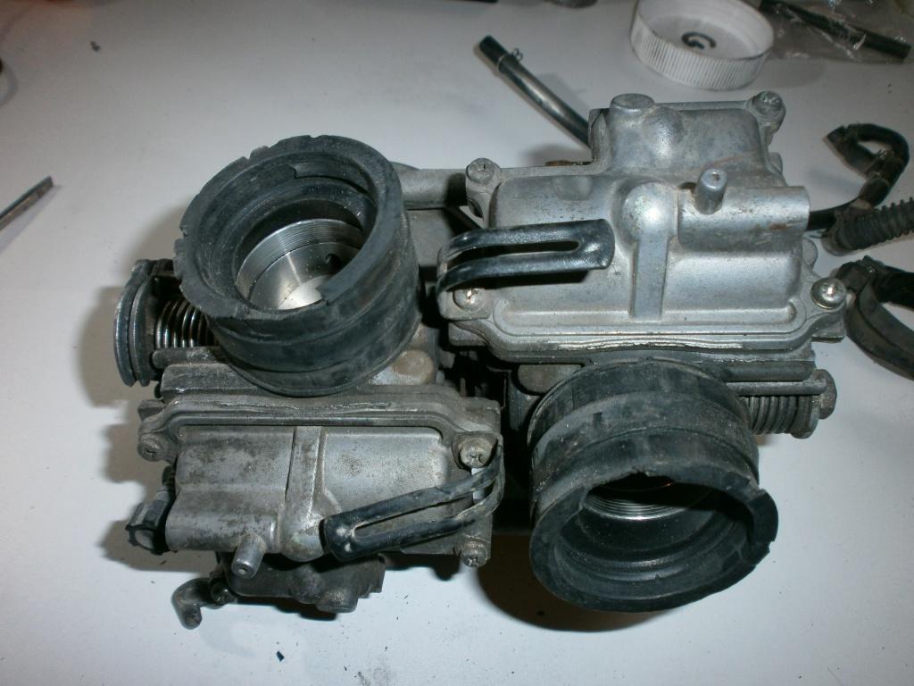 Nettoyage carburateurs de transalp 600 934072P1270005