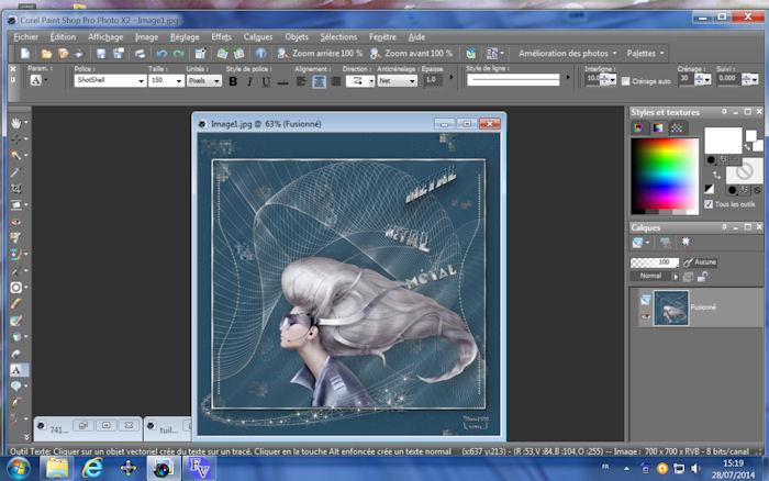 Texte effet métal 3D(avec animation) - Page 2 934599image2