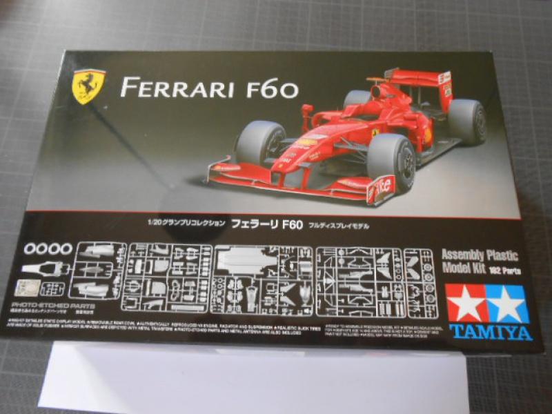 Ferrari  F60  de Tamiya au 1/20° 934993F60001