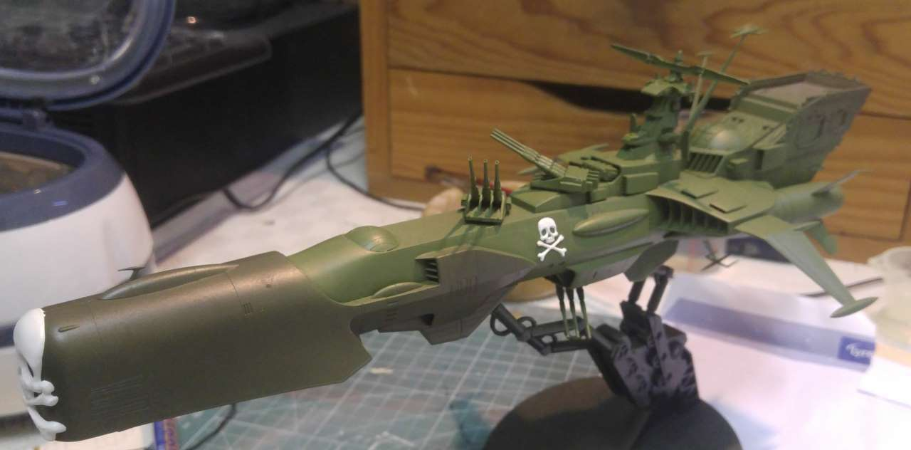 Arcadia (Albator) 1/1500 Hasegawa - Page 2 935106ARCADIA37