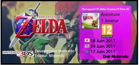 The Legend Of Zelda: Ocarina Of Time 3D | 3DS 935920oot3d
