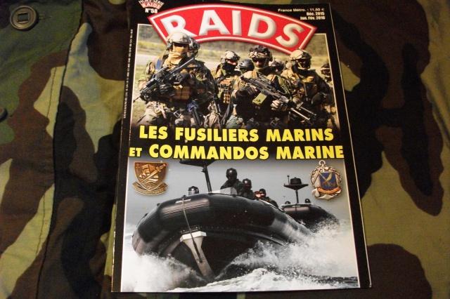 RAIDS magazine Hors Serie no58 les fusiliers et commando de marine. 936392DSCF3885