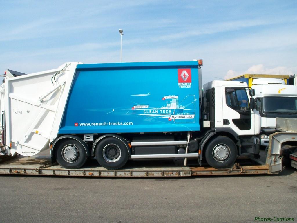 Les bennes a ordures ménagères. 937441photoscamions11V1171