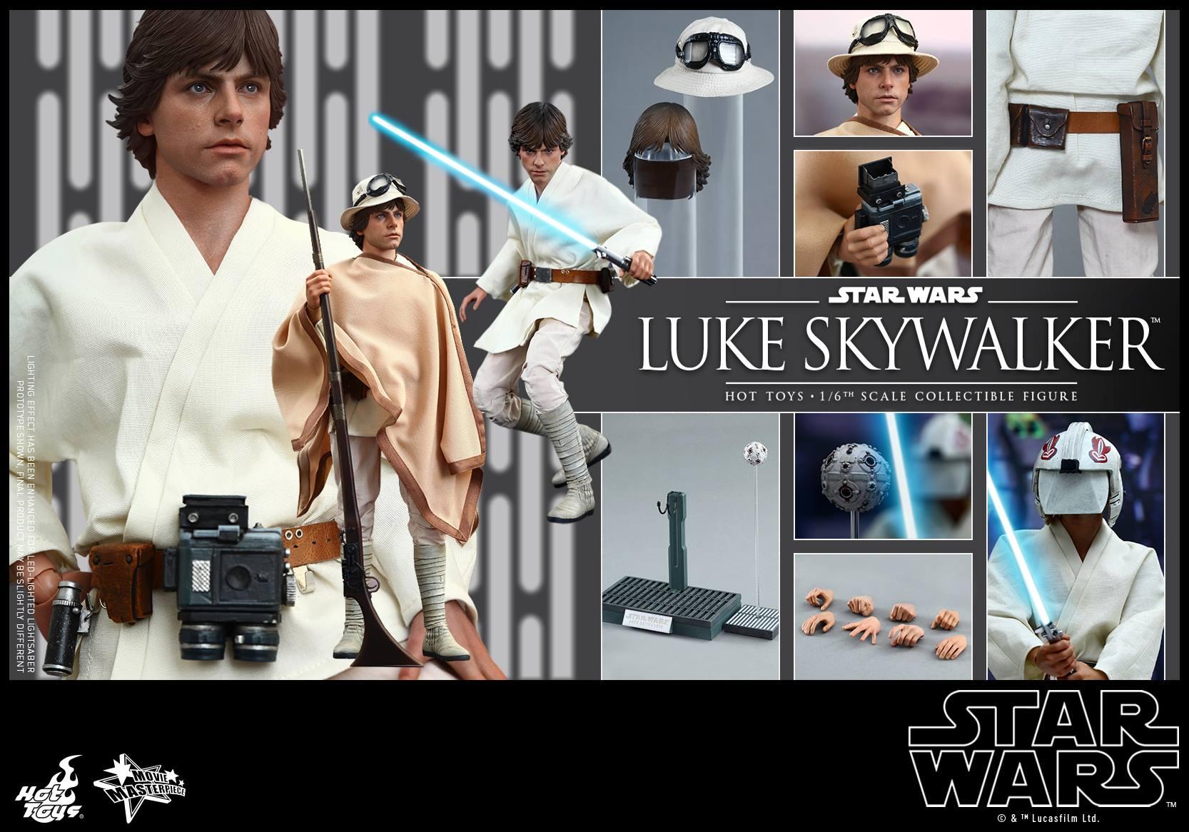HOT TOYS - Star Wars: Episode IV A New Hope - Luke Skywalker 937531115