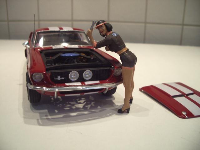 mustang shelby 350 GT 1967  au 1/25 de chez AMT/ERTL  938577IMGP1055