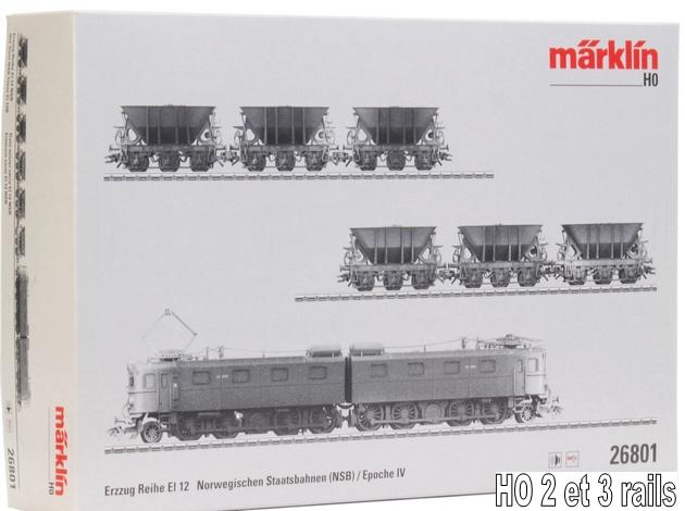 Les machines D/Da/Dm/Dm3 (base 1C1) des chemins de fer suèdois (SJ) 938579mrklin26801verschneiterErzzugEl12derNSBSJ4
