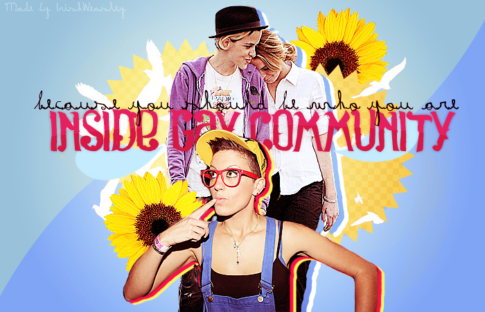 ♣ inside gay community