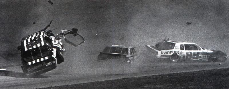 Chevy Monte-Carlo 1986 #18 freedlaander Tommy ELLIS 938909NASCARTommyEllisDaytona1987