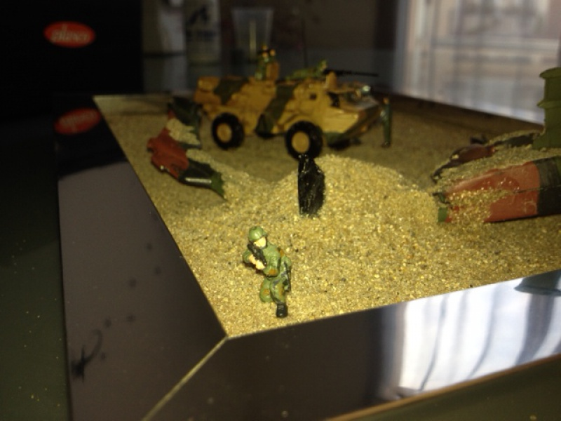 Diorama 1/72 secours crash 939507image13
