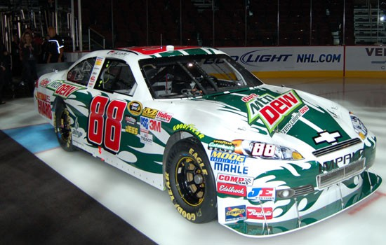 Chevy Impala 2010 #88 Earnhardt jr Mountain dew diet 939745artcardale